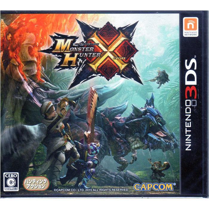 現貨中 3DS遊戲 魔物獵人 X 魔物獵人X MHX Monster Hunter X 日文日版