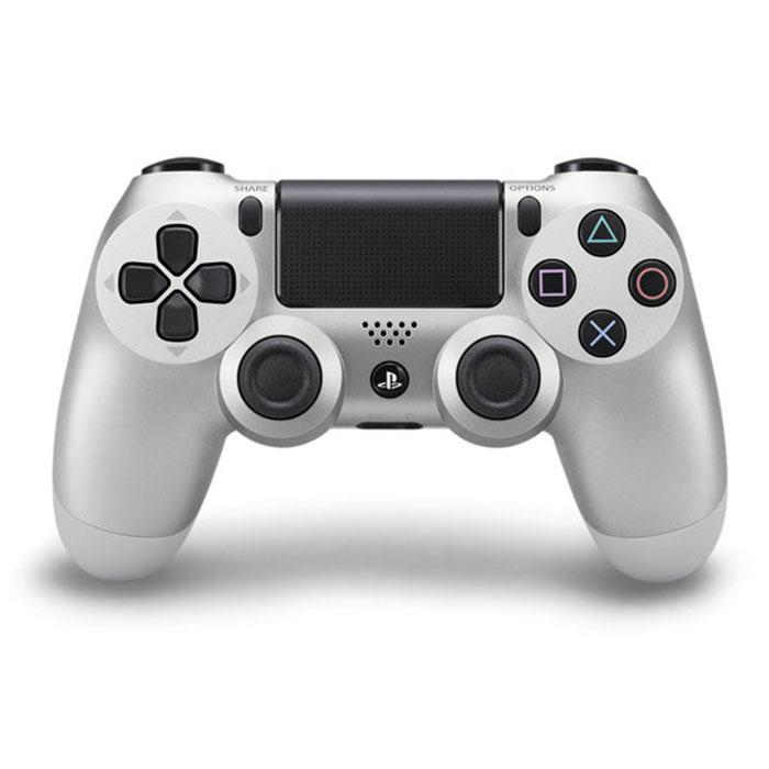平行輸入 PC 可用 PS4 主機專用 DS4 SONY原廠 無線藍芽震動手把 銀色