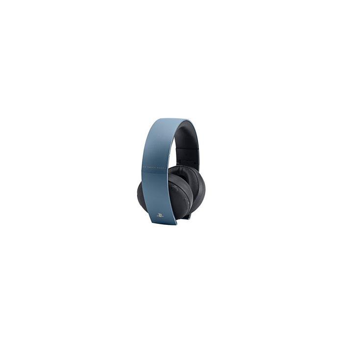 【平行輸入】現貨 PS4 原廠 秘境探險 4 盜賊末路 灰藍色 Wireless Stereo Headset 7.1 無線立體聲耳機