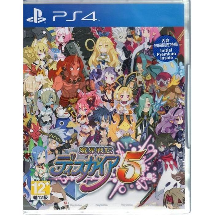 現貨中 PS4遊戲 魔界戰記 DISGAEA 5 Disgaea 5 日文亞版