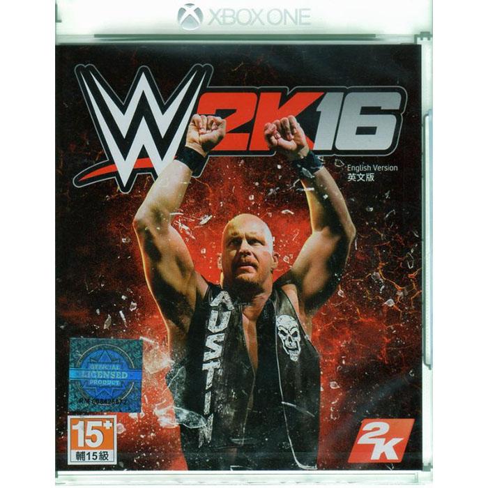 現貨中 XBOXONE 遊戲 WWE 2K16 美國勁爆職業摔角 英文亞版