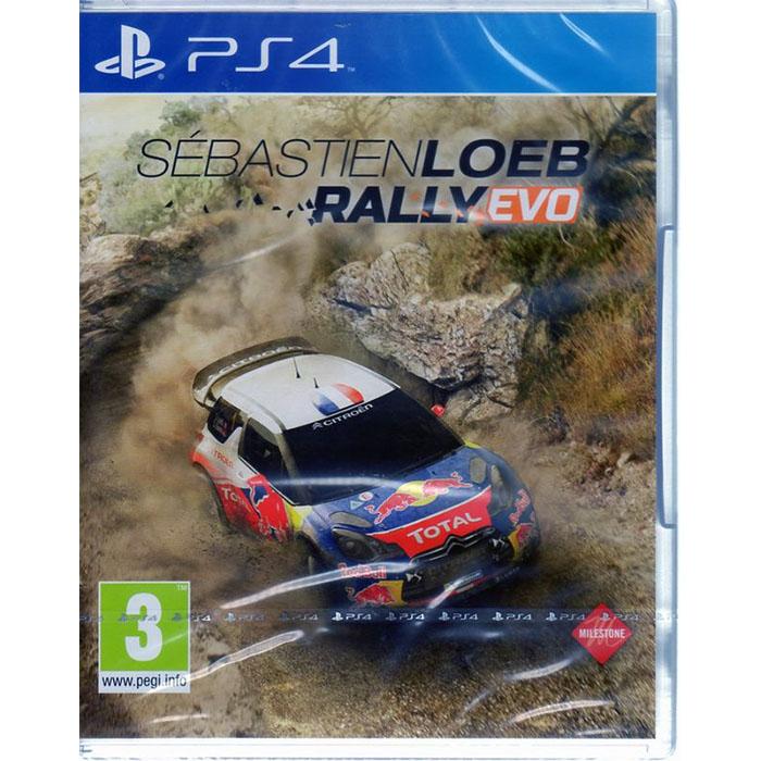 現貨中PS4遊戲 勒布EVO拉力賽 Sebastien Loeb Rally Evo 英文版