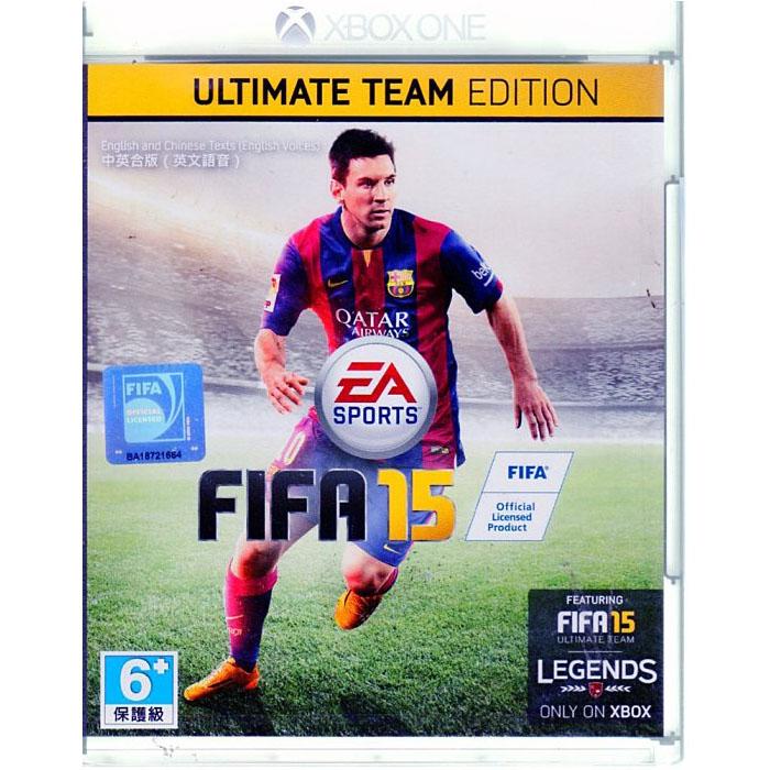 XBOXONE 遊戲 終極版 FIFA 15 國際足盟大賽 15 中英文亞版