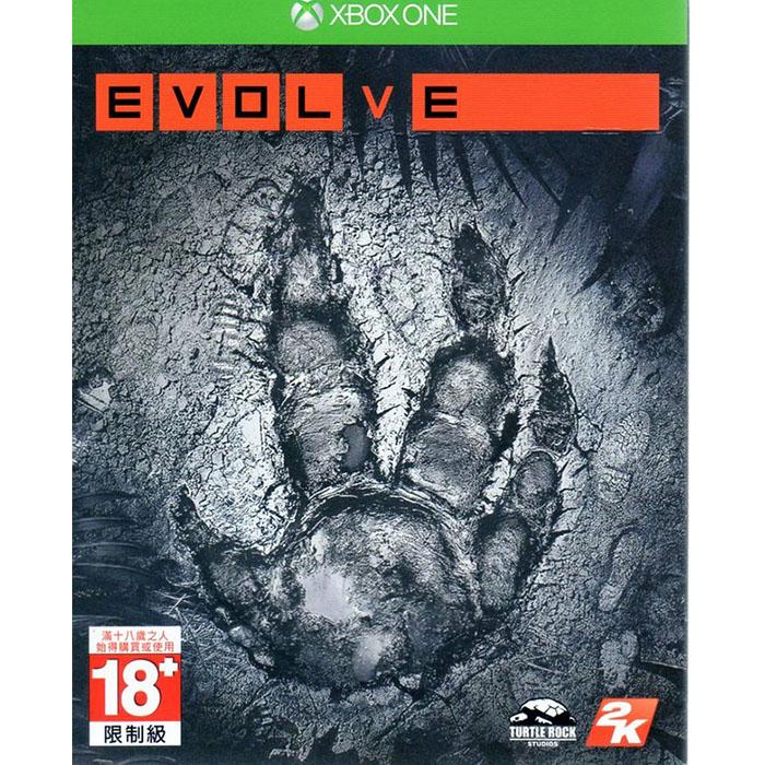 現貨中 XBOXONE遊戲 惡靈進化 Evolve 中文亞版