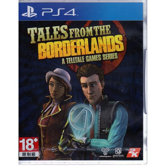 PS4遊戲 邊緣禁地傳說 冒險外傳 Tales From The Borderlands 英文亞版