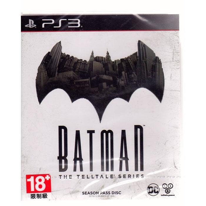 現貨中 PS3 遊戲 蝙蝠俠 秘密系譜 Batman The Telltale Series 有中文 亞文版