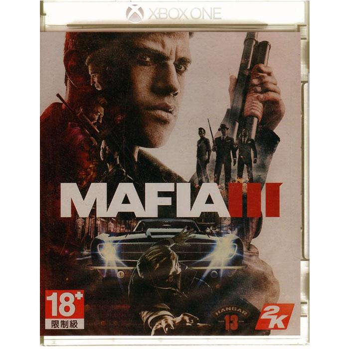 現貨中 XBOXONE遊戲 四海兄弟 3 Mafia III 中文亞版