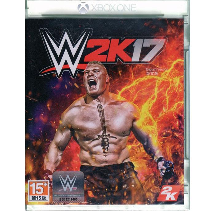現貨中 XBOXONE遊戲 WWE 2K17 美國勁爆職業摔角 英文亞版 WWE2K17