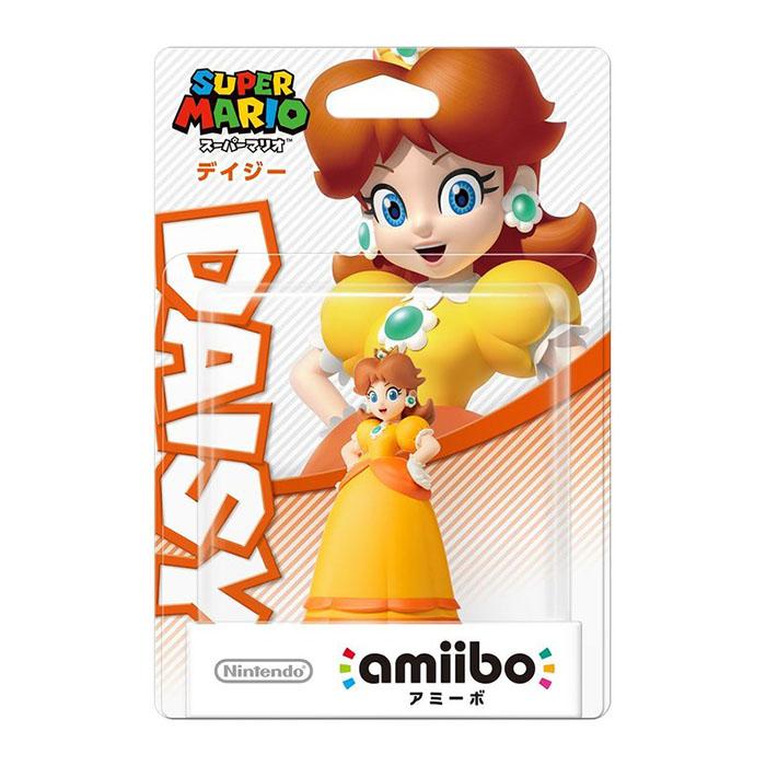 Wii U近距離無線連線NFC連動人偶玩具amiibo 黛西 DAISY 瑪利歐派對 星星衝刺