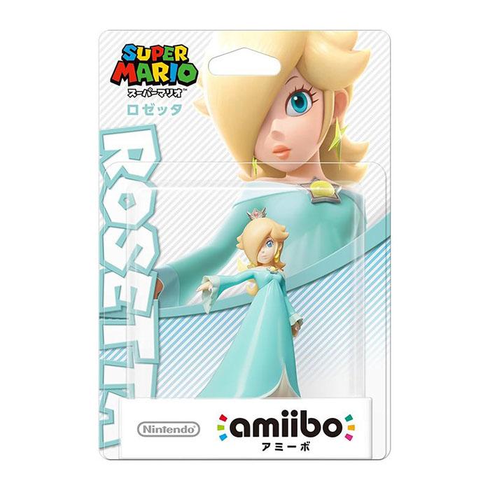 Wii U近距離無線連線NFC連動人偶玩具amiibo 羅潔塔 ROSETTA 瑪利歐派對 星星衝刺