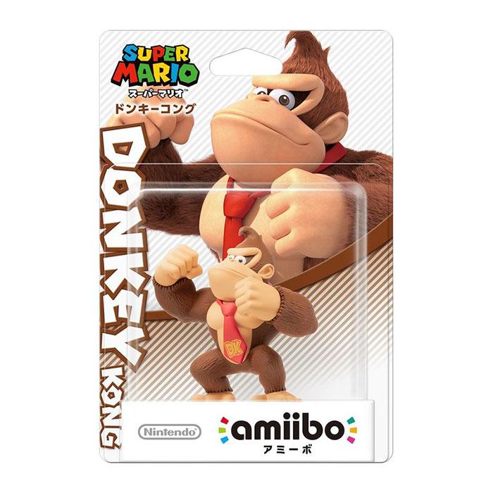 Wii U近距離無線連線NFC連動人偶玩具amiibo 大金剛 DONKEY KONG 瑪利歐派對 星星衝刺