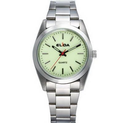 《ELIDA》 經典輕巧時尚腕錶EA101MS-G-螢光綠/36mm