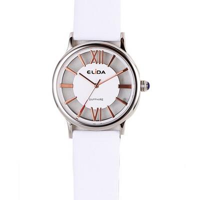 《ELIDA》羅馬假期鏤空時尚腕錶EA2910MS-WG-白/38mm