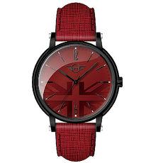 ~MINI Swiss Watches~簡約英國旗幟計時腕錶~紅 MINI~160620