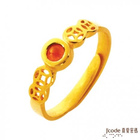 J'code真愛密碼 五錢戒黃金戒指(預購)