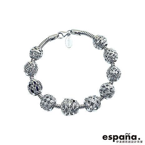 ESPANA伊潘娜 璀璨流星純銀串珠手鍊