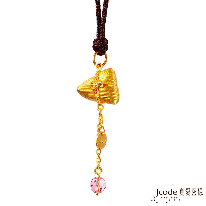 J'code真愛密碼 桃花人緣黃金粽子/中國繩項鍊