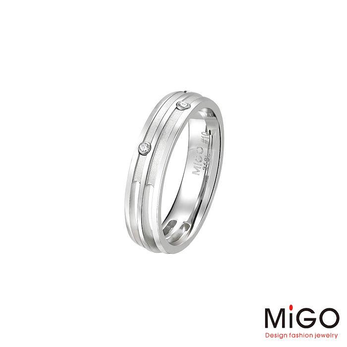 MiGO 結合白鋼女戒指