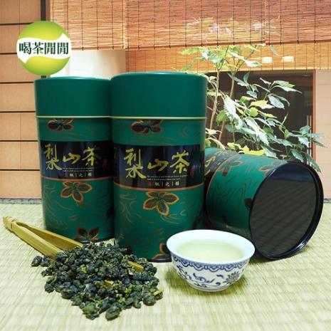 【喝茶閒閒】嚴選梨山清香高冷茶,共2罐(150公克/罐)-app用