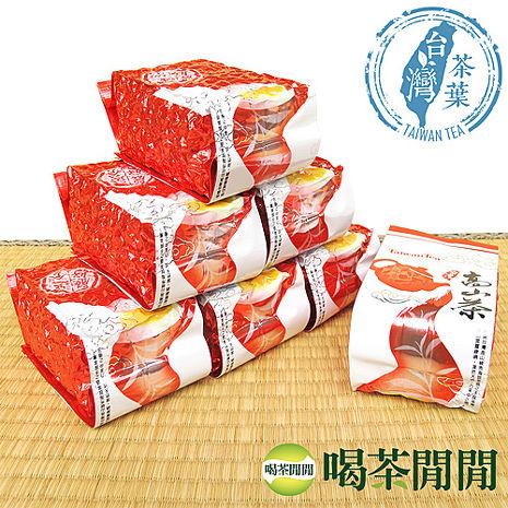 【喝茶閒閒】台灣精選-比賽級熟香烏龍茶(150公克*4包)