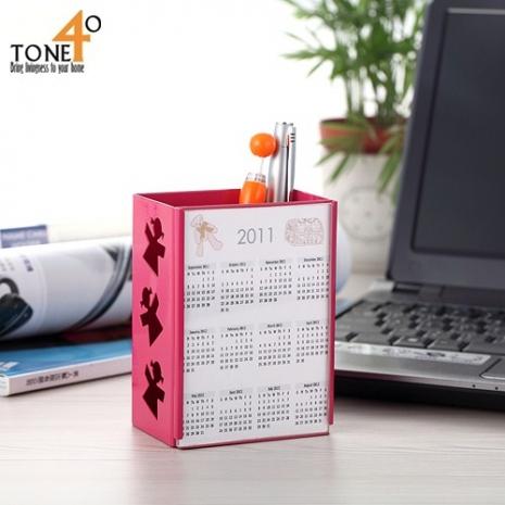 【Tone 40】酷筆筒(粉紅色)