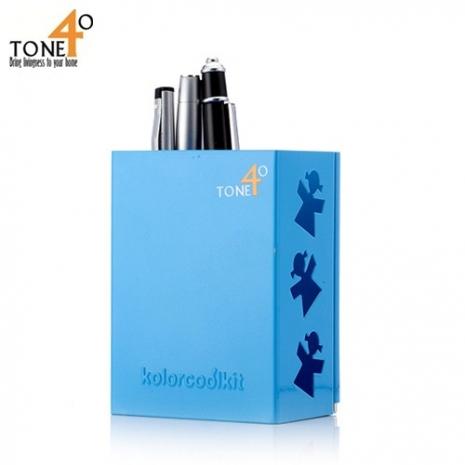 【Tone 40】酷筆筒(藍色)