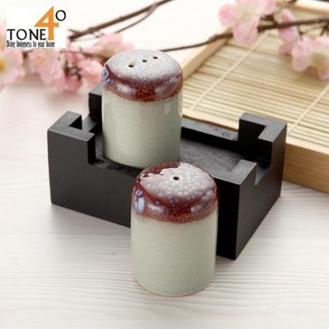 【Tone 40】【釉彩禪】胡椒/鹽調味罐組