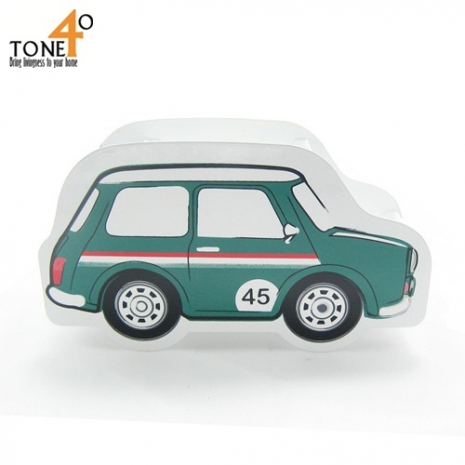 【Tone 40】酷筆筒-汽車造型系列(綠色Mini奧斯丁)