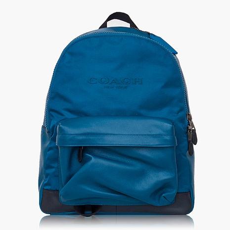 【COACH旅行必備】尼龍 / 背包 / 後背包_藍黑