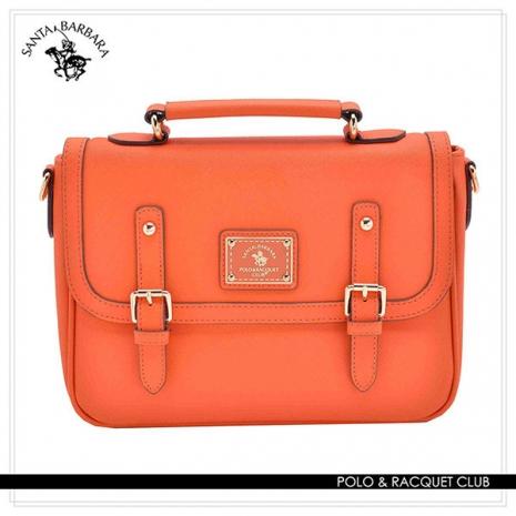 SANTA BARBARA POLO - 幸福微糖系列 小型手提/側背兩用記者包-香橙橘 SB08-03509