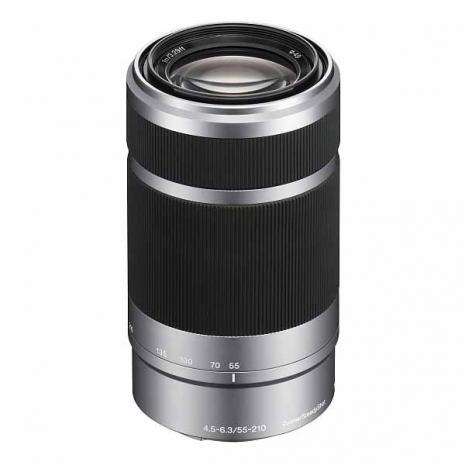 SONY E55-210mm F4.5-6.3 OSS 銀色*(平輸-彩盒)-送專用拭鏡筆