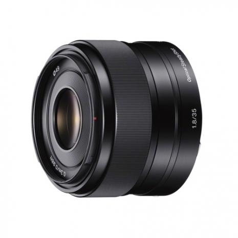 SONY E35mm F1.8 OSS大光圈定焦鏡頭(平輸)-送抗UV保護鏡49mm+專業拭鏡筆