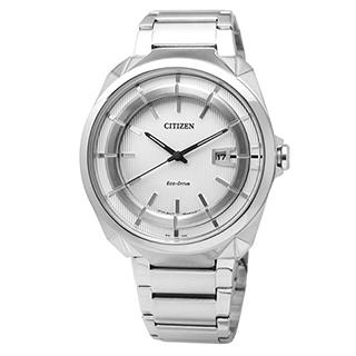 CITIZEN 時尚風格光動能腕錶 AW1010-57B