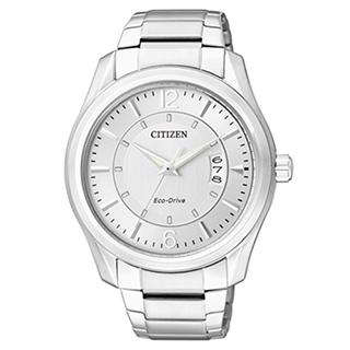 CITIZEN 紳士個性光動能腕錶 AW1030-50B