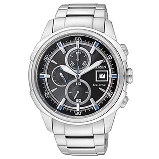 CITIZEN 傳奇武士三眼計時腕錶 CA0370-54E