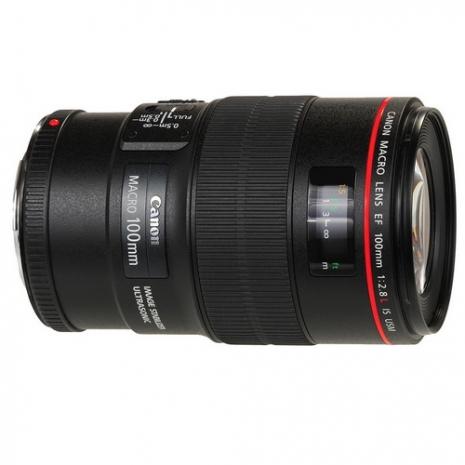 Canon EF 100mm f2.8L Macro IS USM (平輸)-抗UV保護鏡67mm+專用拭鏡筆