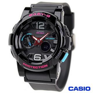 CASIO BABY-G 極限運動數位錶 BGA-180-1B (雙11特賣)-服飾‧鞋包‧內著‧手錶-myfone購物