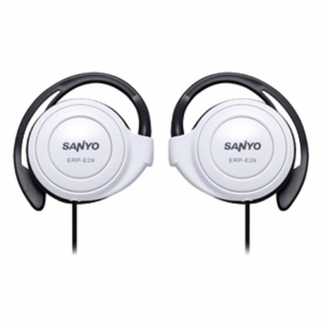SANYO 三洋 立體聲耳掛式耳機 ERP-E29(白)