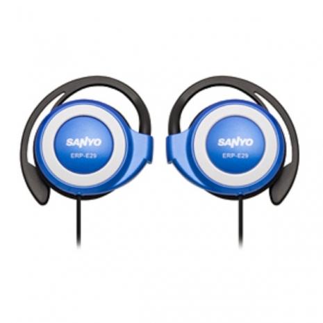 SANYO 三洋 立體聲耳掛式耳機 ERP-E29(藍)