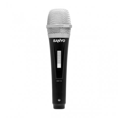 SANYO三洋 動圈式麥克風 HMT-10(黑)