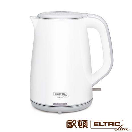 ELTAC歐頓 1.8L雙層不鏽鋼快煮壺 EBK-07