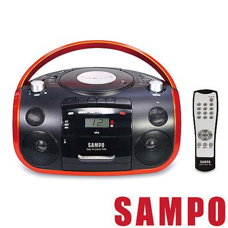 SAMPO聲寶 手提CD/MP3/USB/SD收錄音機 AK-W1602UL語言學習機