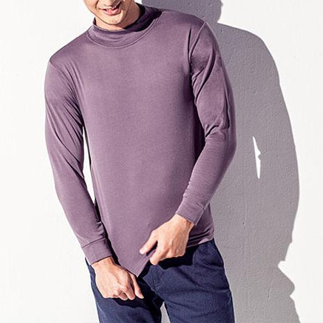【TELITA】【抗寒保暖】長袖刷毛保暖衫(男)-灰色M