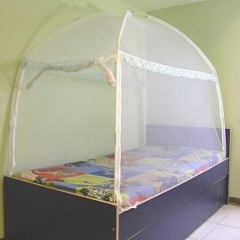 〔威克爾〕三門蒙古包式蚊帳-3.5*6.2單人床專用