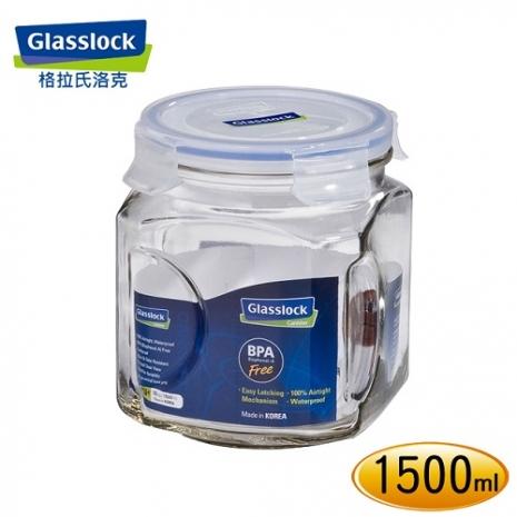 【Glasslock】玻璃保鮮罐1500ml