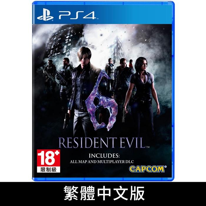 PS4《惡靈古堡 6》中文版