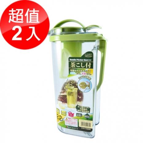 活動 日本岩崎耐熱冷水壺2.2L 2入組