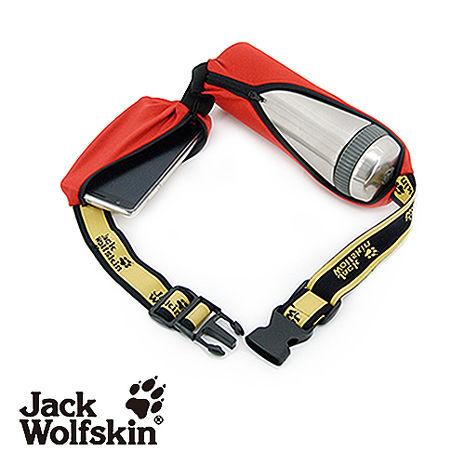 【采棉居寢飾文化館】Jack Wolfskin飛狼多功能魔術腰帶-酒紅