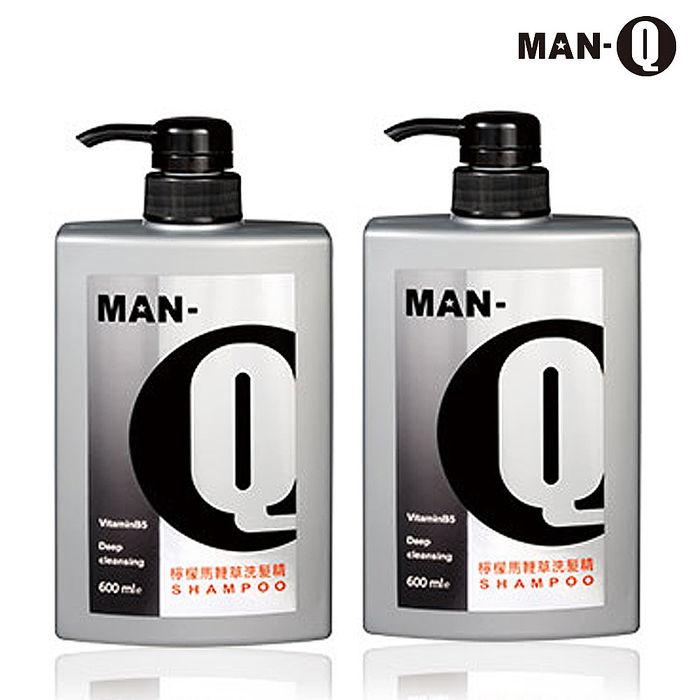 【MAN-Q】檸檬馬鞭草洗髮精600mlX2