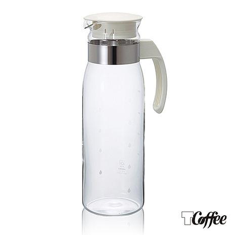 Tcoffee HARIO-V60便利白色耐熱冷水壺1400ml
